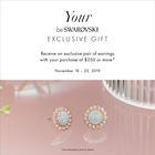 Your BeSwarovski Exclusive Gift!