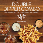 New! Double Dipper Combo at New York Fries