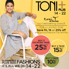 toni T by Toni Plus – Save Now on Our Bestselling Brand!