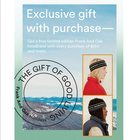 EXCLUSIVE GIFT WITH PURCHASE