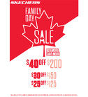 SKECHERS FAMILY DAY SALE