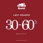 Roots Winter Sale