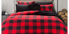 Pair your new flannel bedding with $30 – $50 OFF! Responsible Down Standard duvets!