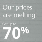 Our prices are melting!