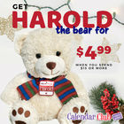 Get Harold the Bear for $4.99