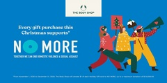 The Body Shop is partnering up with Canadian Women's Foundation to help end gender-based violence against diverse in Canada