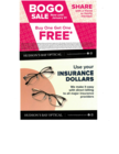 BOGO ....SHARE with a Friend or Family Plus use your Insurance Dollars