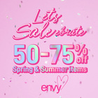 End of Season Sale at envy!