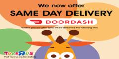 Now offering DoorDash !