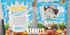 Get your 2nd Bag of Kernels Popcorn 1/2 Price