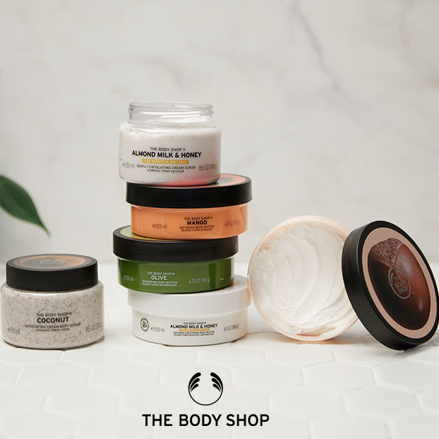 Body Butter Event now on at The Body Shop