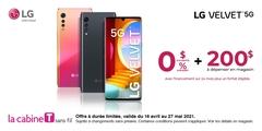 Obtenez le LG Velvet 5G