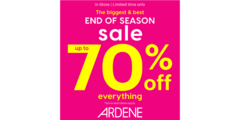 Our BIGGEST end of season sale is here!