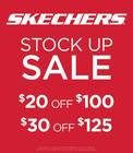 SKECHERS STOCK UP SALE!