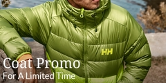 Up to 20% off on Coats for Him