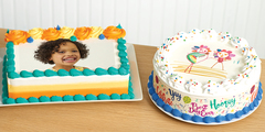 New! Edible Image Cakes from Baskin-Robbins