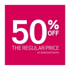 50% off ALL regular-priced boots for Women, Men & Kids. *