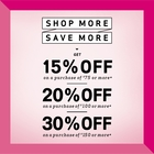 Shop more, Save more !