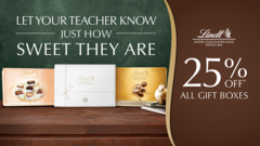 25% Off All Gift Boxes for Teacher's Day!