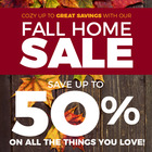 Fall Home Sale is on now!