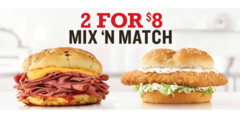 2 for $8 Mix 'n Match