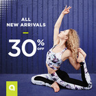 30% OFF new arrivals + 3 SALE items for the price of 1!