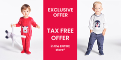 EXCLUSIVE : TAX FREE in the entire store*