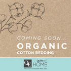 In Stores This February: Organic Cotton Bedding!
