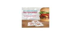 Buy a $25 A&W Gift Card.  Get a free Teen Burger