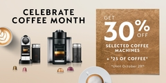 Celebrate National Coffee Month with Nespresso!