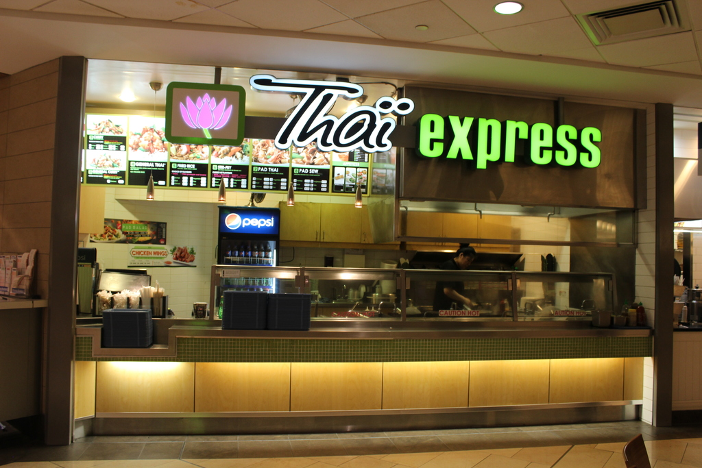 Thai Express - under renovations