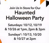 RSVP Today for our Haunted Halloween Party!