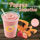 Papaya Paradise Fruit Smoothie