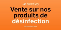 Vente sur nos produits de désinfection