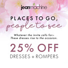 25% off Dresses & Rompers