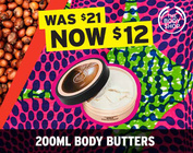 LYBC Exclusive: 200ml Body Butters for $12!