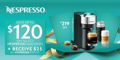 Gifting Friday Nespresso Machine