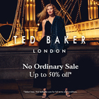 Ted Baker London No Ordinary Sale