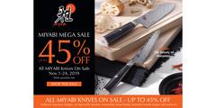 Miyabi Month! Up to 45% off all Miyabi Knives. Nov 1 - 24 - While quantities last!