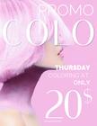 Promo Colo - $20
