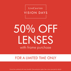 Lenscrafters Vision Days