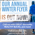 The Morning Sun Health Foods Annual Winter Flyer is out NOW!