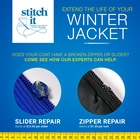 Zipper Repair — Extend Your Winter Jacket's Life!