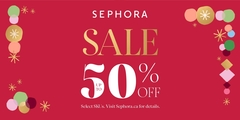 Bring a little beauty to your Black Friday, with Sephora!