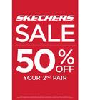 SHOP SKECHERS BOGO 50% OFF SALE!