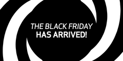 The BLACK FRIDAY has arrived!