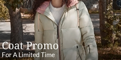 Up to 20% off on Coats for Her