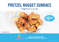 Buy any Nugget Sundae and get a free Small Lemonade