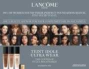 Lancome 45 shades Teint Idole Ultra Wear