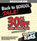 Skechers Back to School Sale
